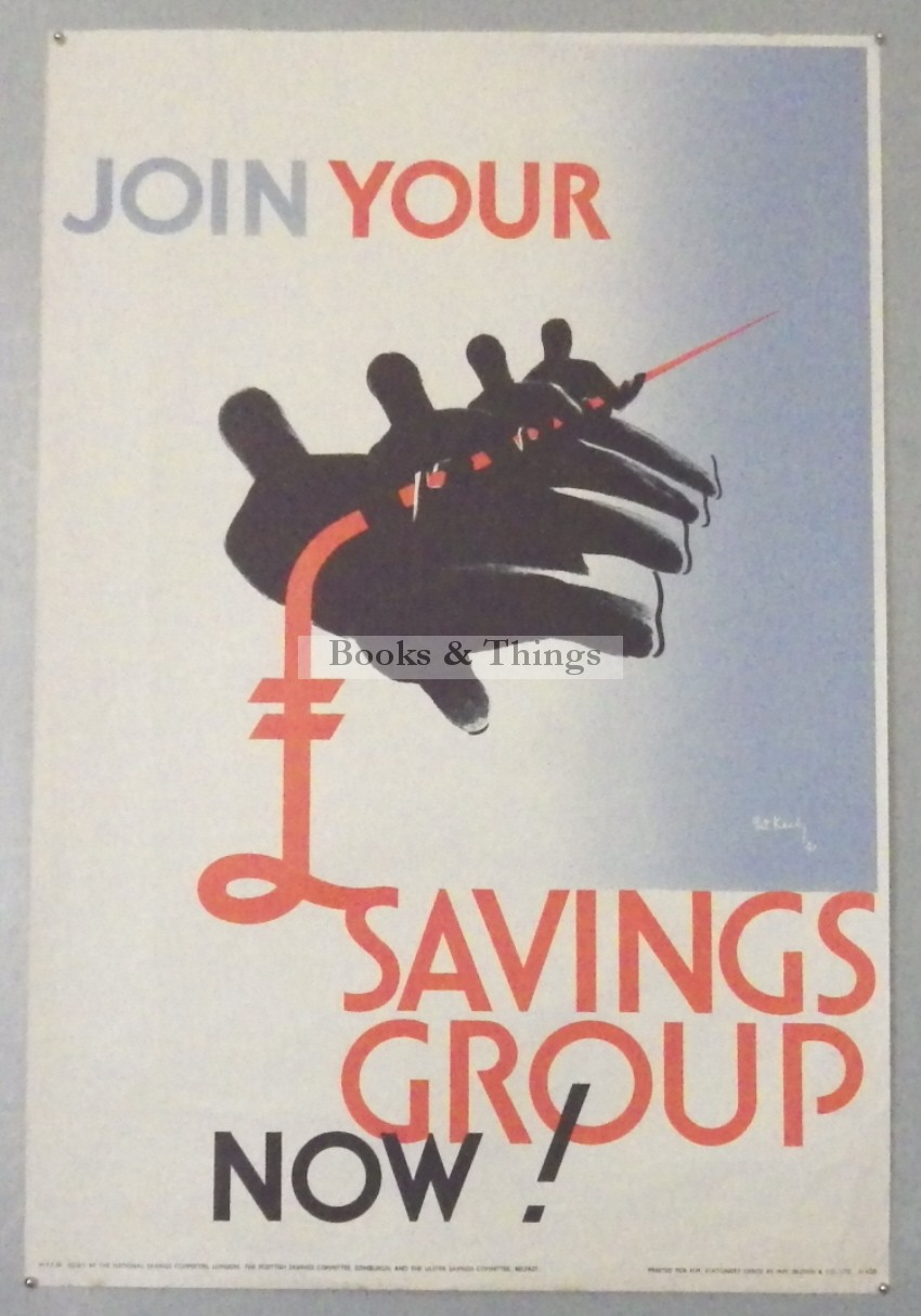 Pat Keely poster Join Your Savings Group
