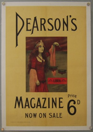 Abbey Aitson poster Pearson's Magazine