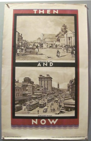 Adelaide Then & Now poster