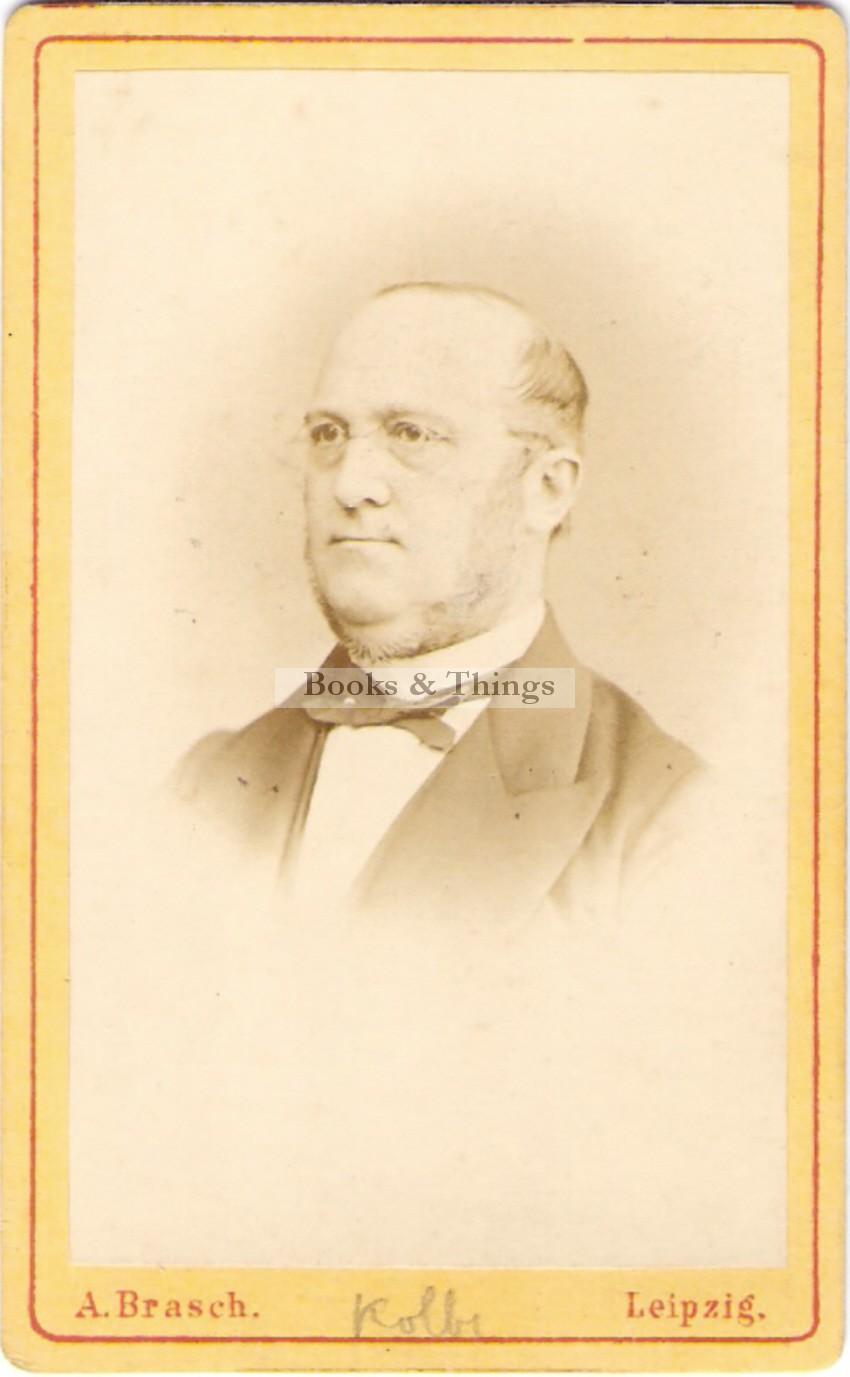 Adolph Hermann Kolbe carte-de-visite