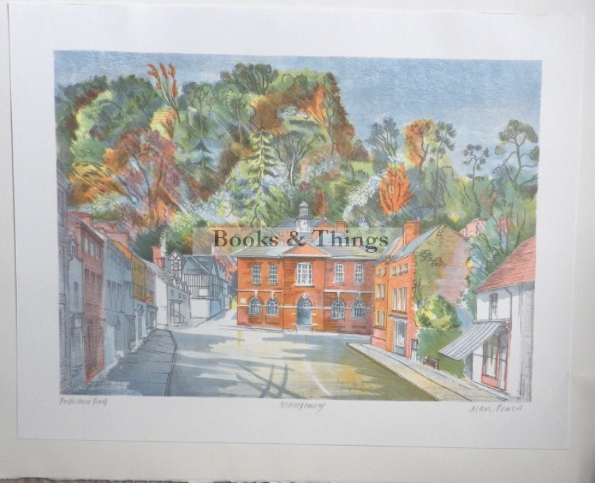Alan Powers lithograph Montgomery