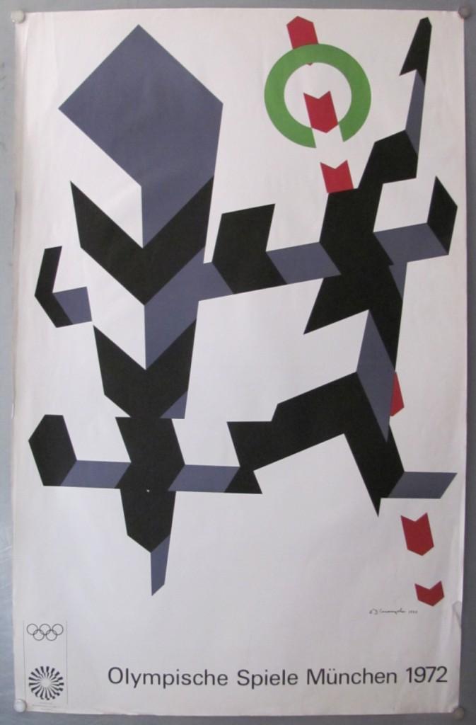 Allan D'Arcangelo Munich Olympics poster