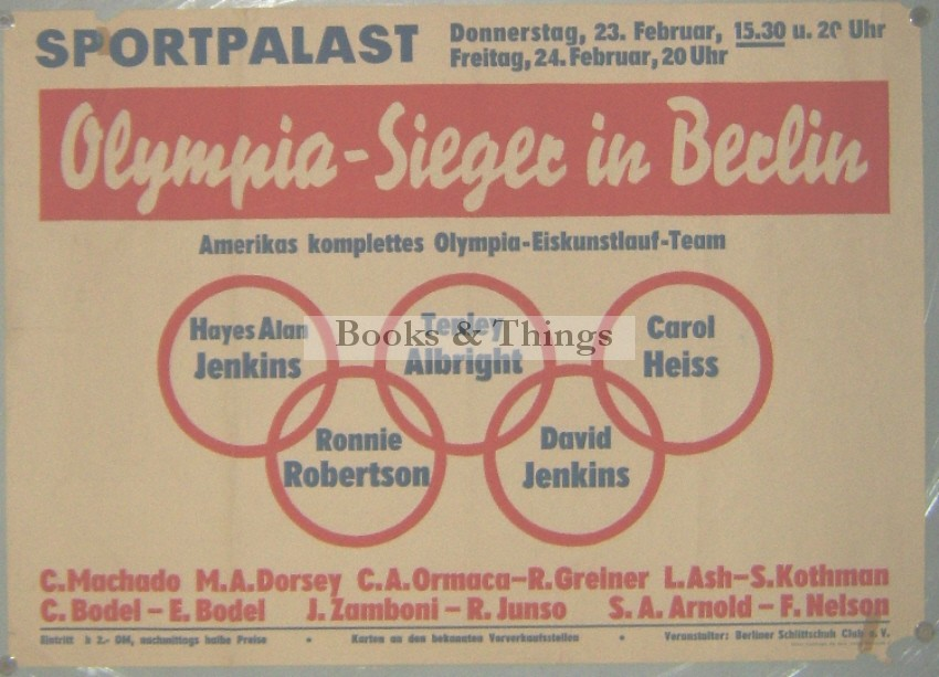 American Olympic Skaters poster