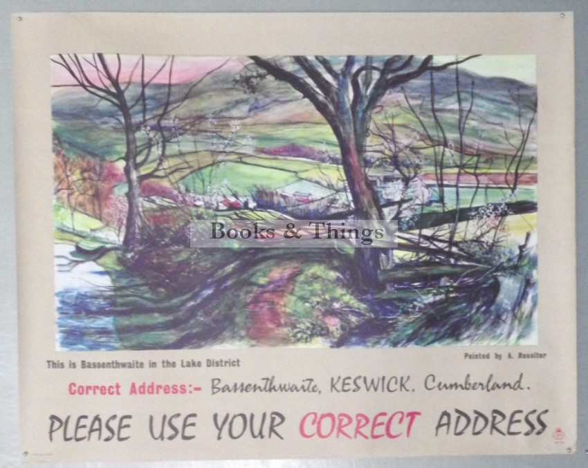 Anthony Rossiter poster Correct Address