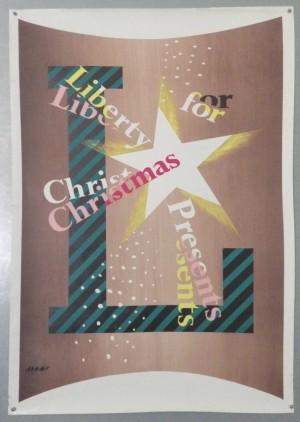 Ashley Havinden Libertys poster