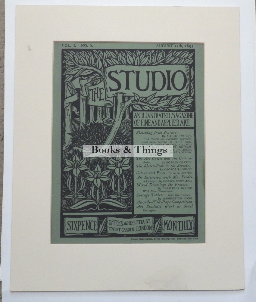 Aubrey Beardsley Studio cover