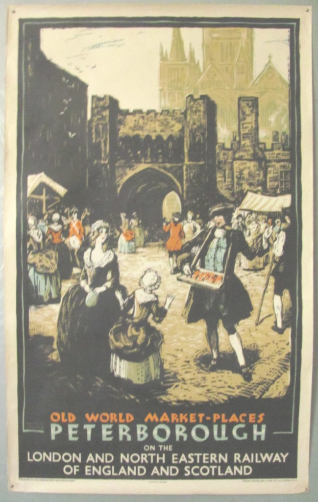 Austin Cooper poster Peterborough