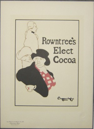 Beggarstaff Brothers Rowntree's Cocoa  lithograph Maitres de l'Affiche