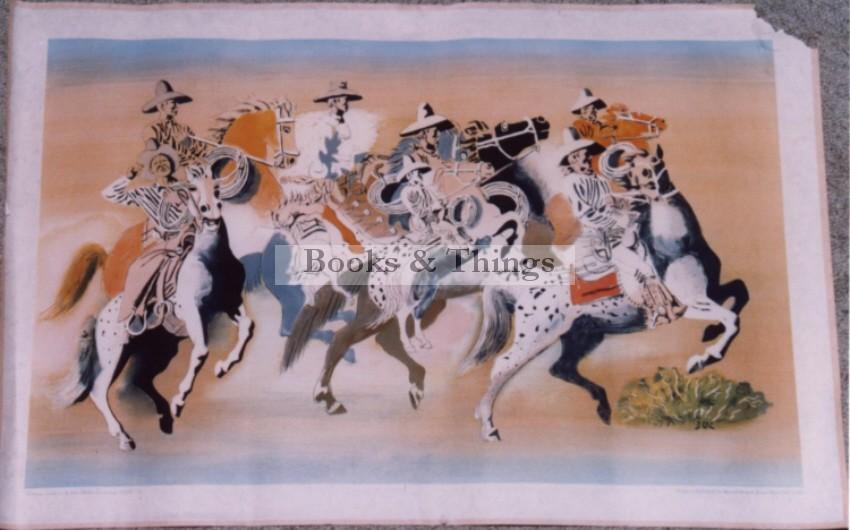 Buck Ulreich lithograph School Print