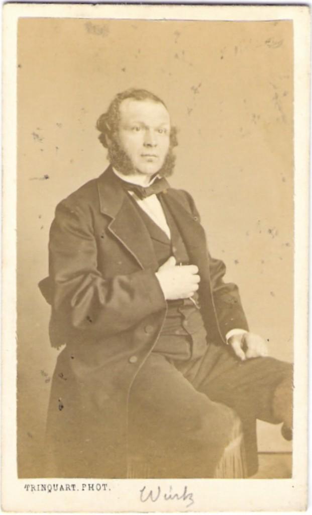 Charles Adolphe Wurtz carte-de-visite