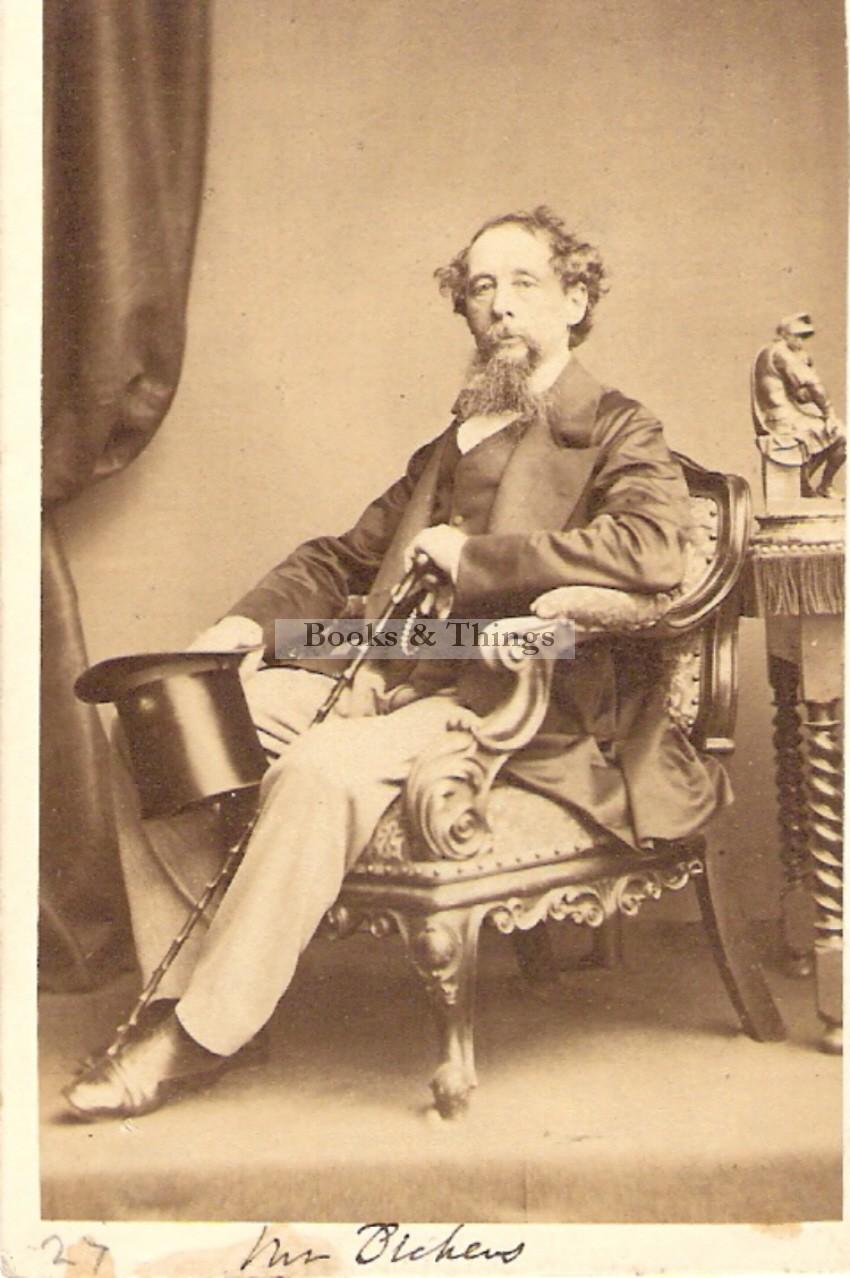 Charles Dickens carte-de-visite