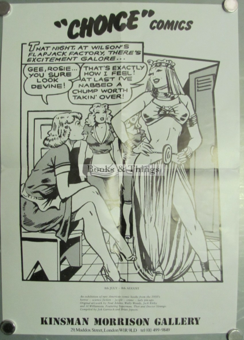Choice Comics Kinsman Morrison Gallery poster