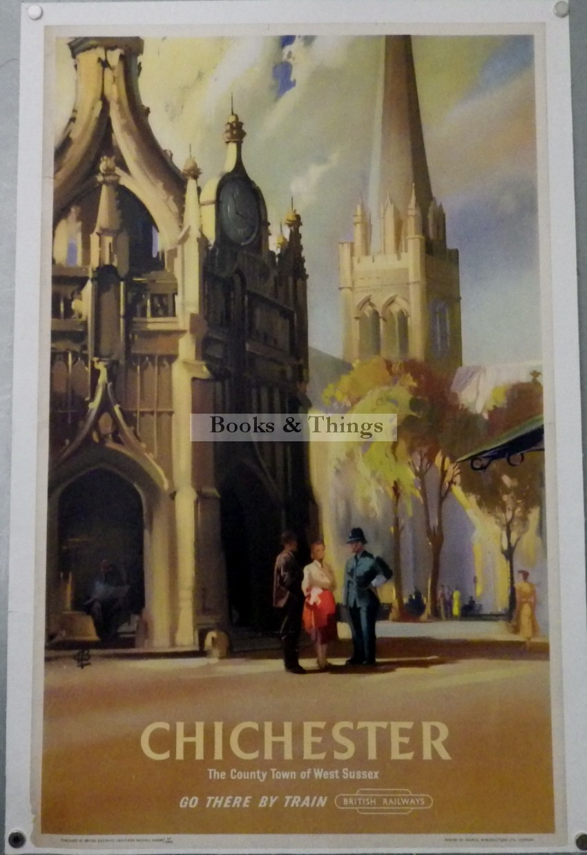 Claude Buckle poster Chichester