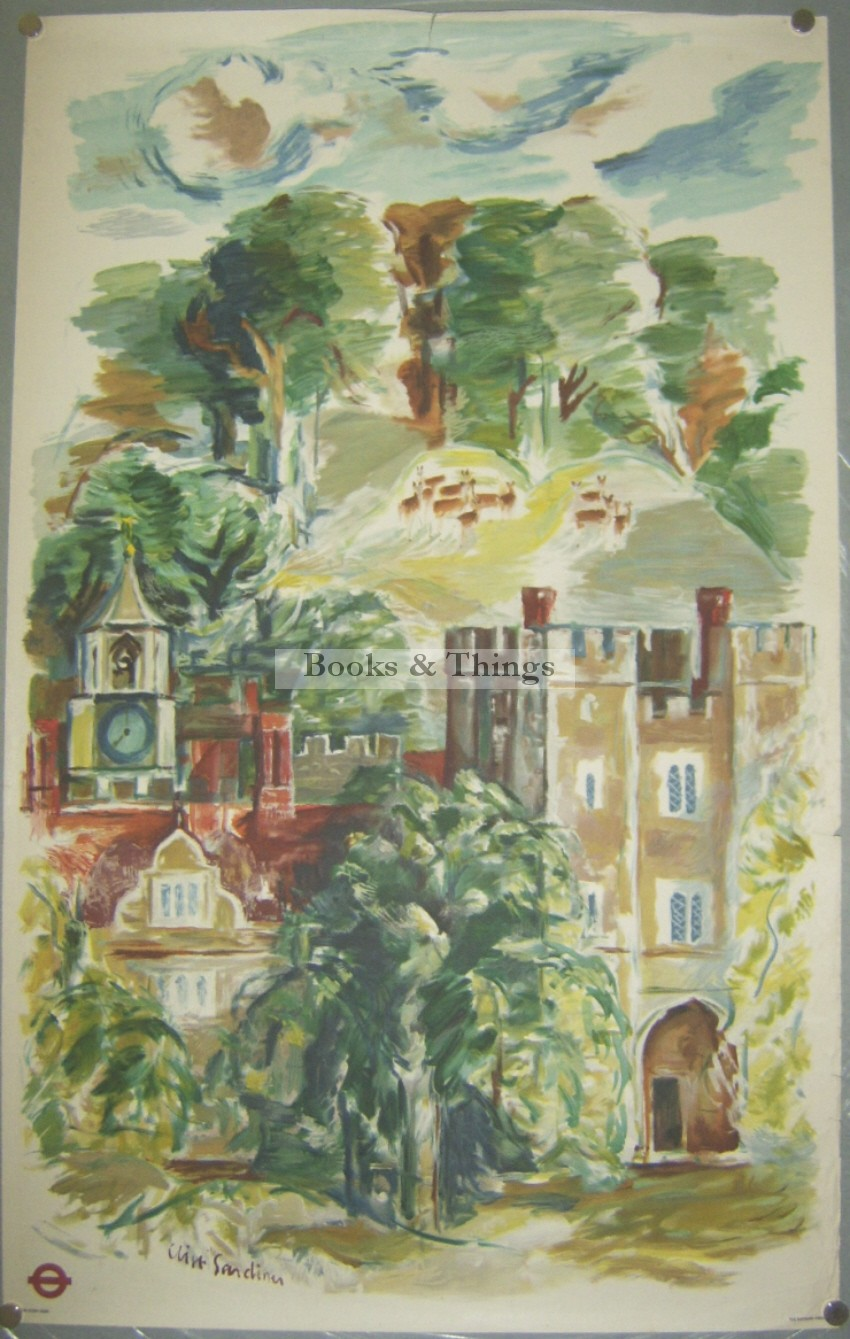 Clive Gardiner poster Country Houses