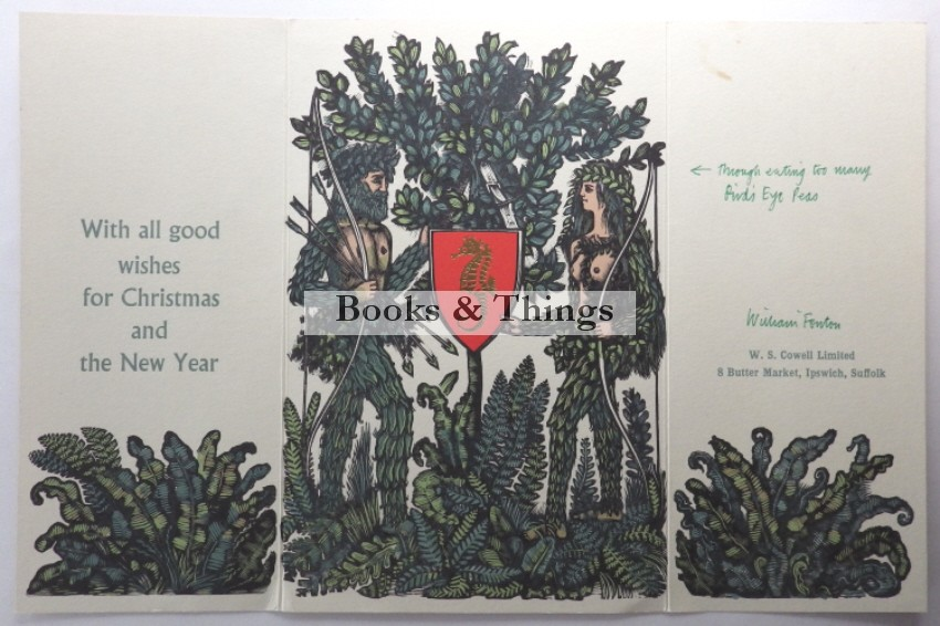 David Gentleman Christmas card