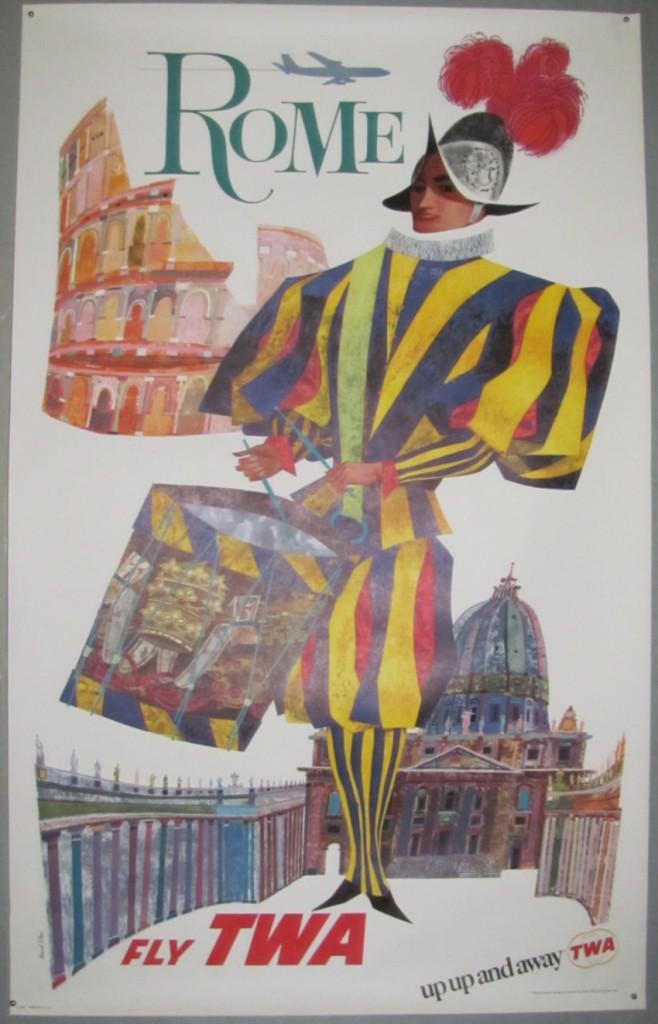 david-klein-poster-rome