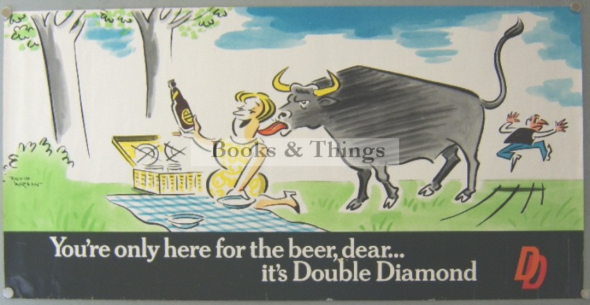 David Langdon Double Diamond poster