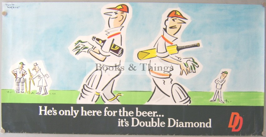 David Langdon poster Double Diamond Beer