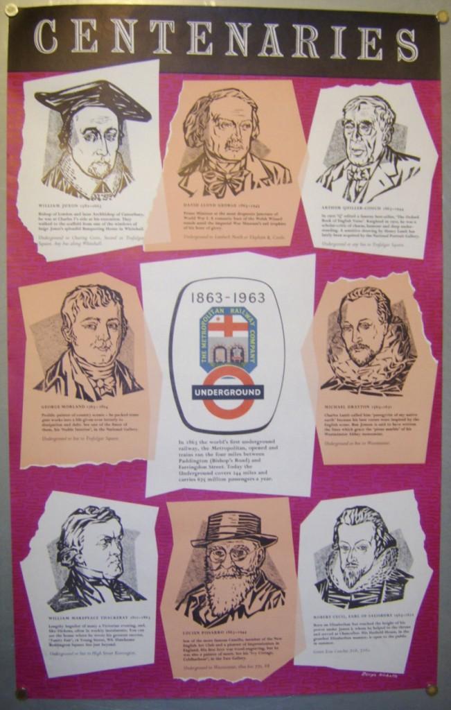 Denys Nicholls poster Centenaries