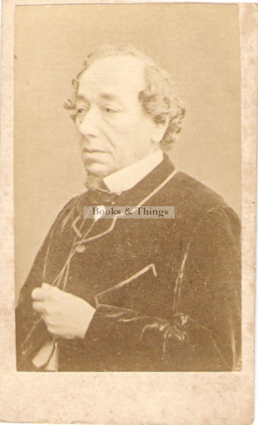 Disraeli photograph