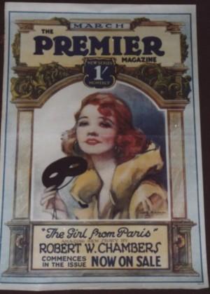 Dorothy Morgan Premier Magazine poster
