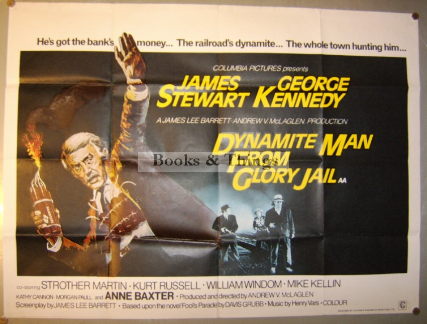 Dynamite Man from Glory Jail poster