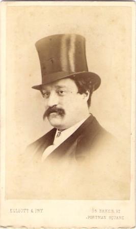 Edmund Yates carte-de-visite