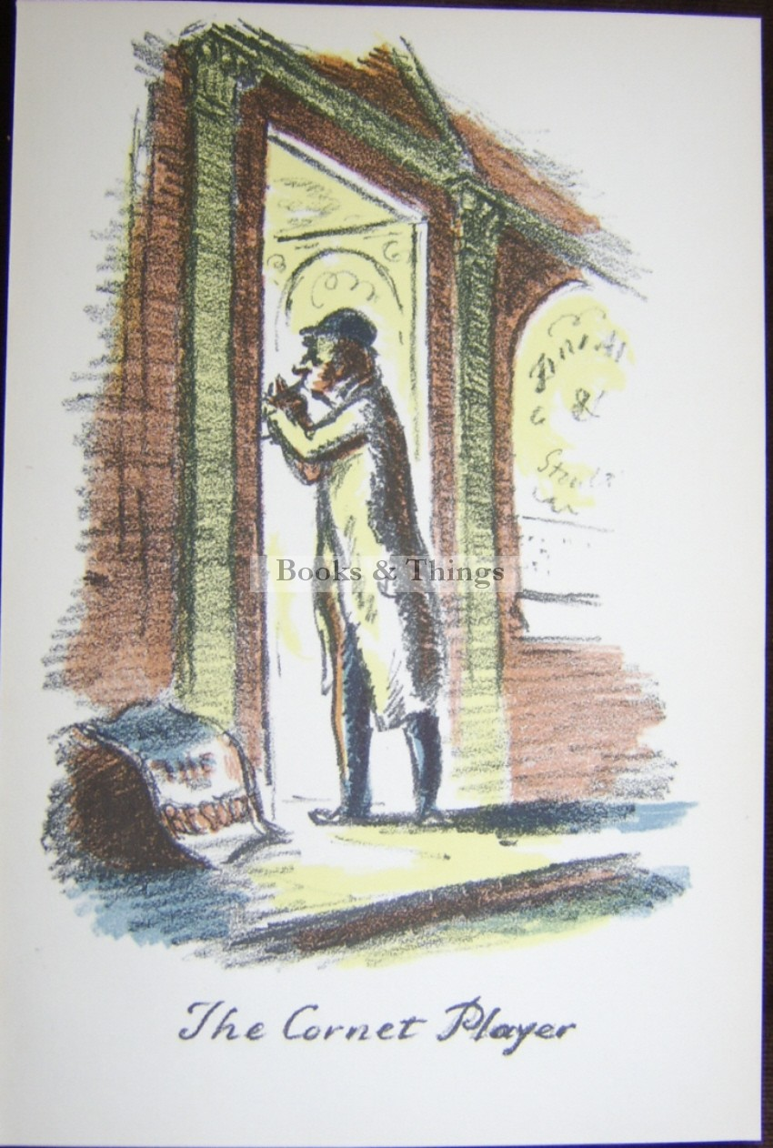 Edward Ardizzone lithograph The Cornet Player
