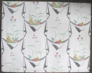 Edward Bawden wallpaper Napkins & fruit