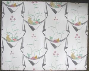 Edward Bawden wallpaper Napkins & fruit