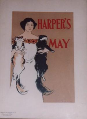 Edward Penfield  lithograph Maitres de l'Affiche