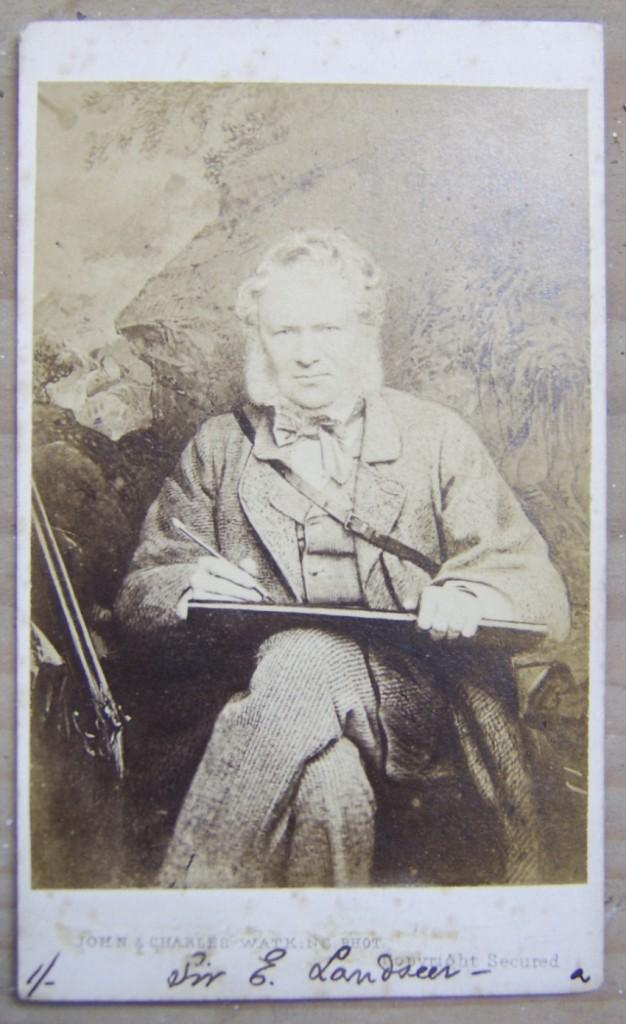 Edwin Landseer carte-de-visite