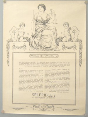 Ellis Martin Selfridges poster