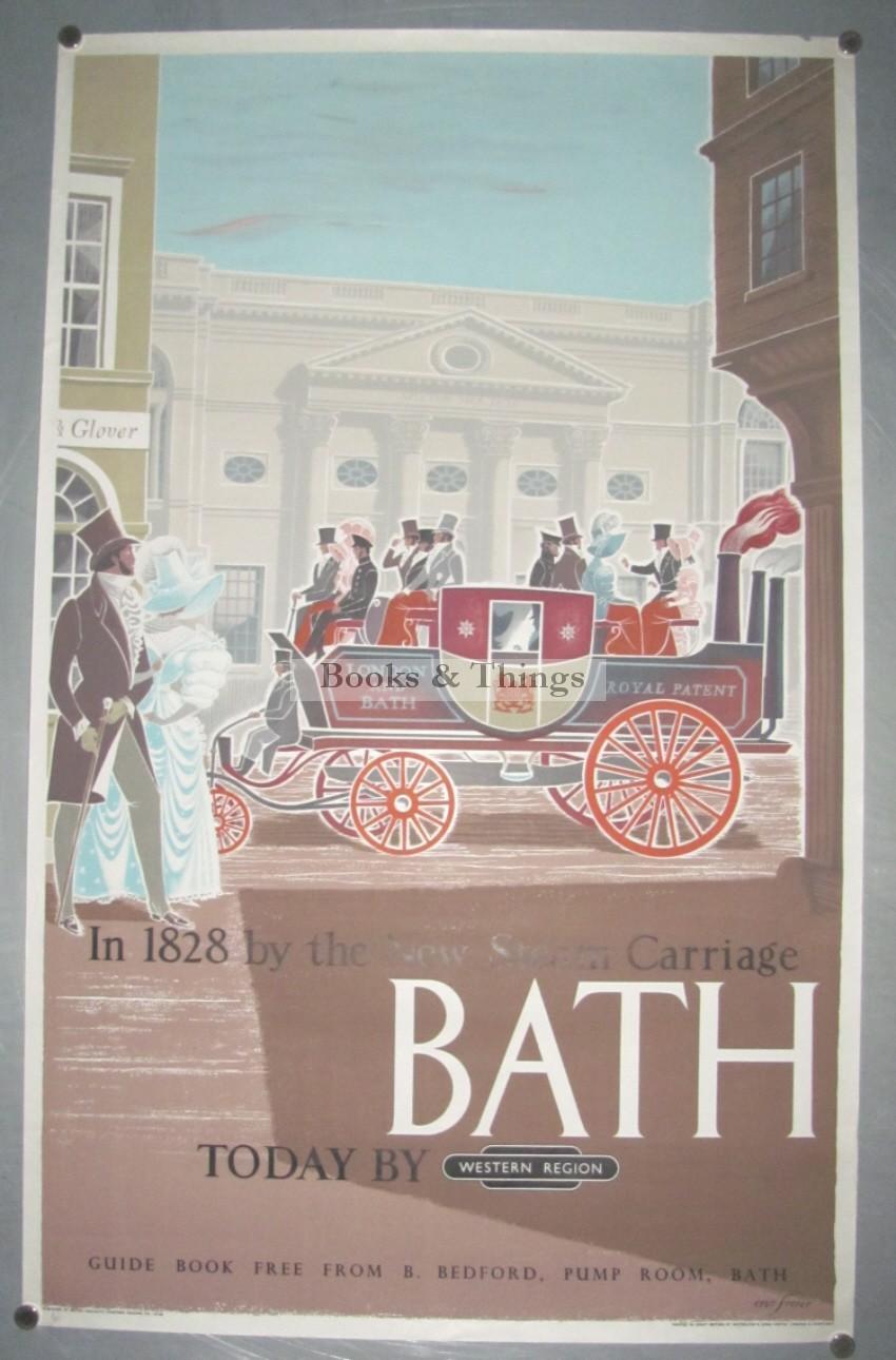 Eric Fraser poster Bath