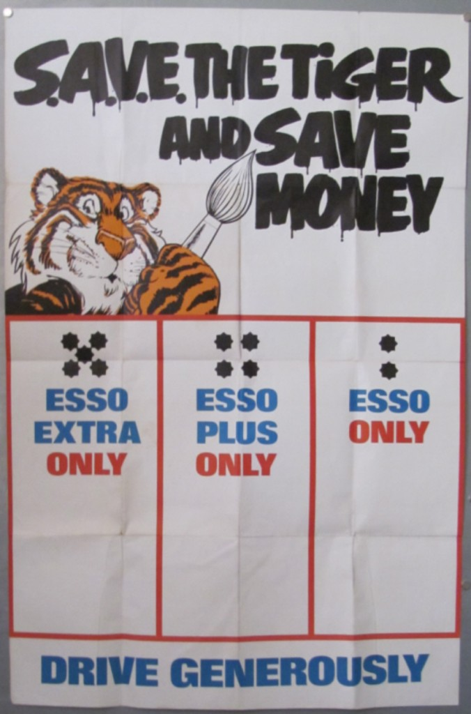 esso-tiger-poster