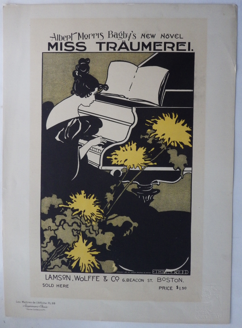 Ethel Reed lithograph