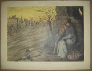 Fernand Gottlob print WW1