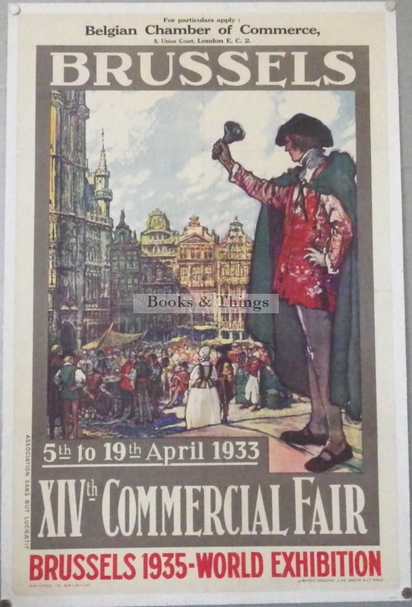 Fernand Toussaint poster Brussels Fair