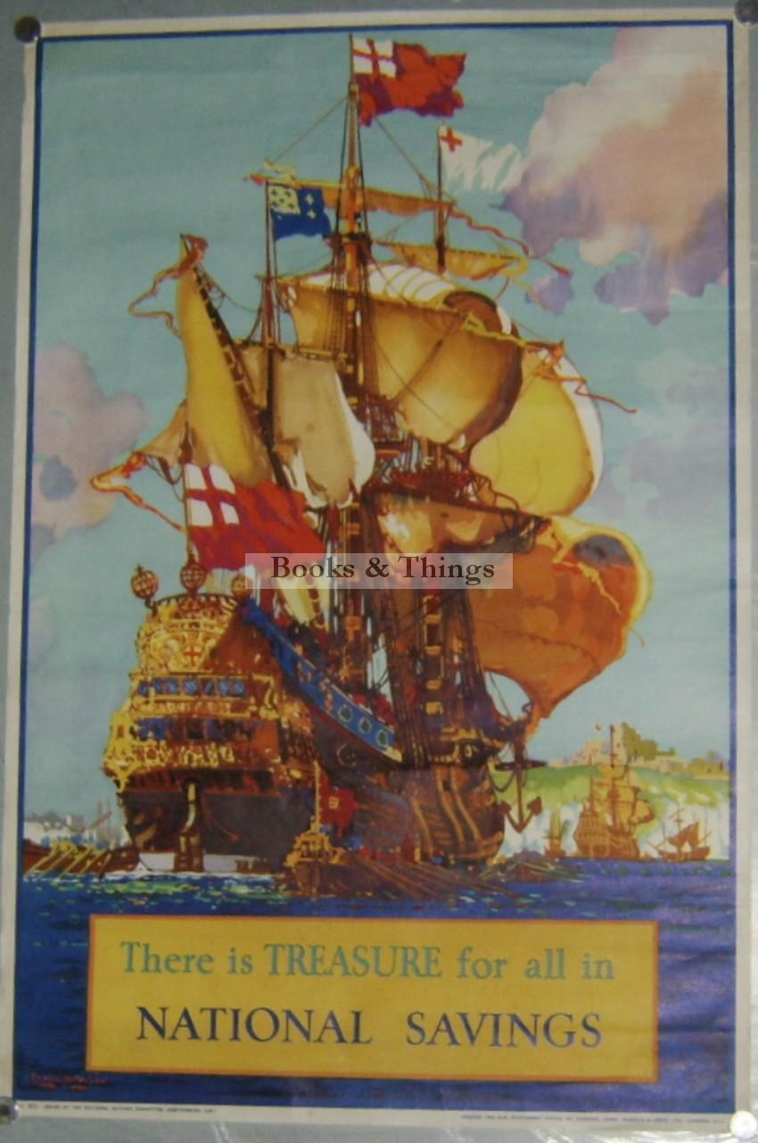 Frank H Mason poster National Savings
