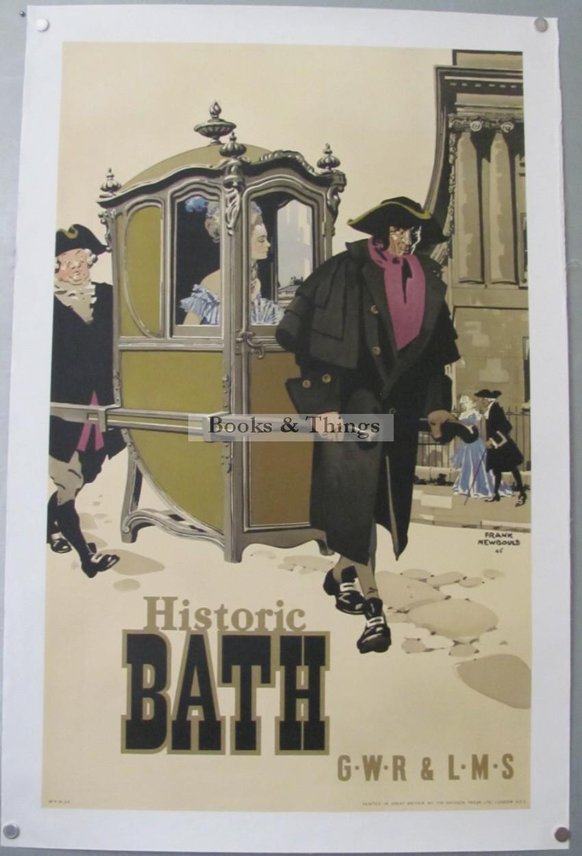 Frank Newbould poster Historic Bath