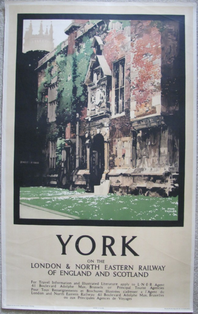 Fred Taylor poster York