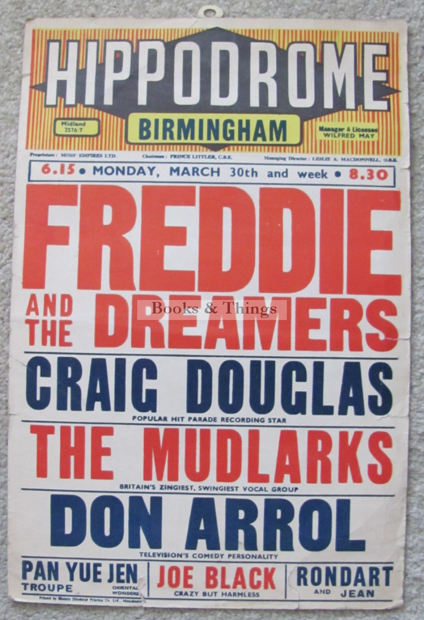 Freddie & the Dreamers poster