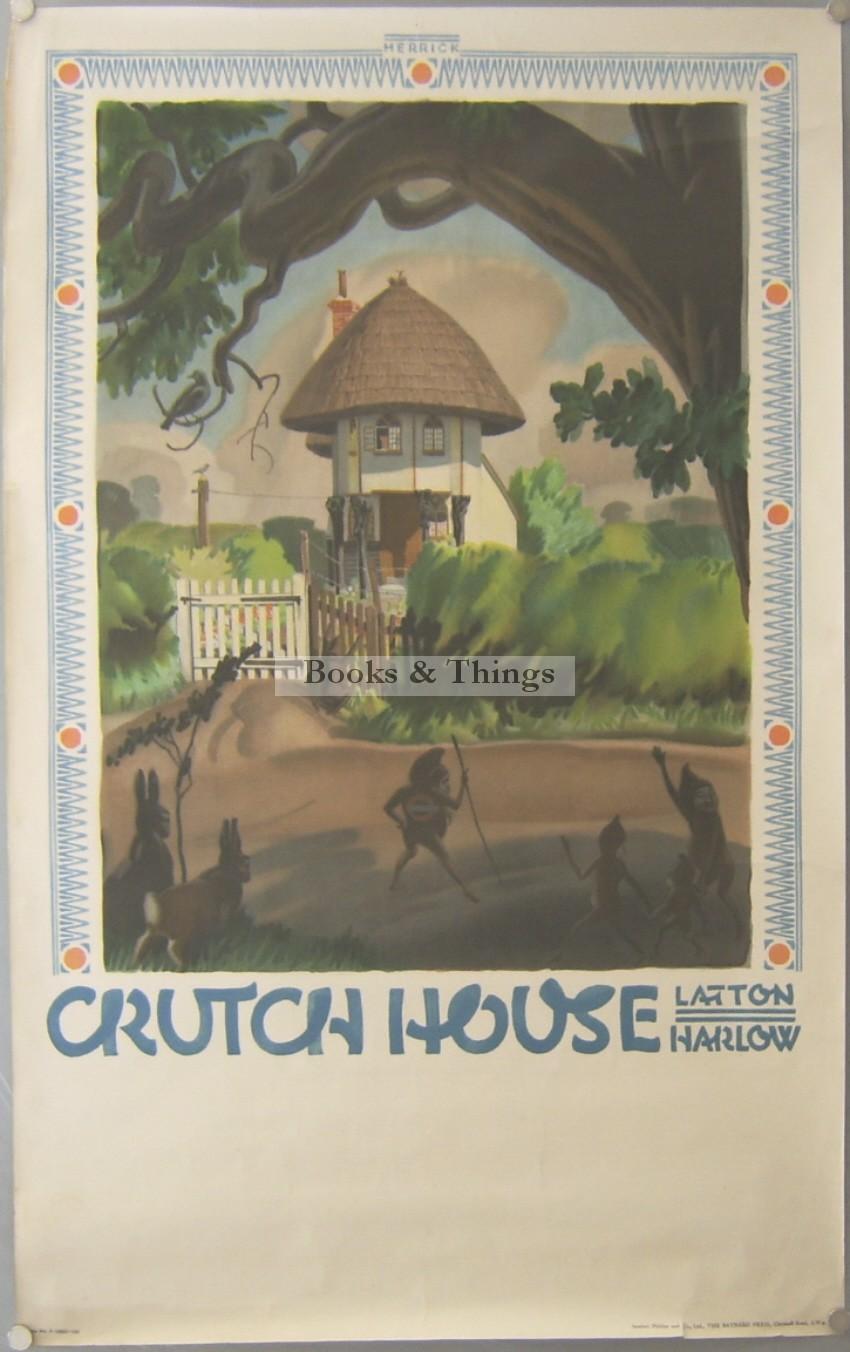 Frederick Herrick poster Crutch House