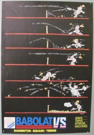 Gainsker Babolat tennis poster
