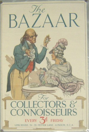 Garth Jones poster The Bazaar