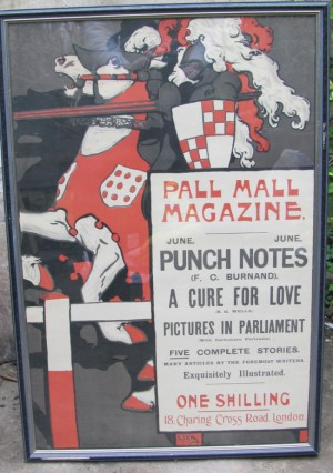 George Denholm Armour poster Pall mall Magazine