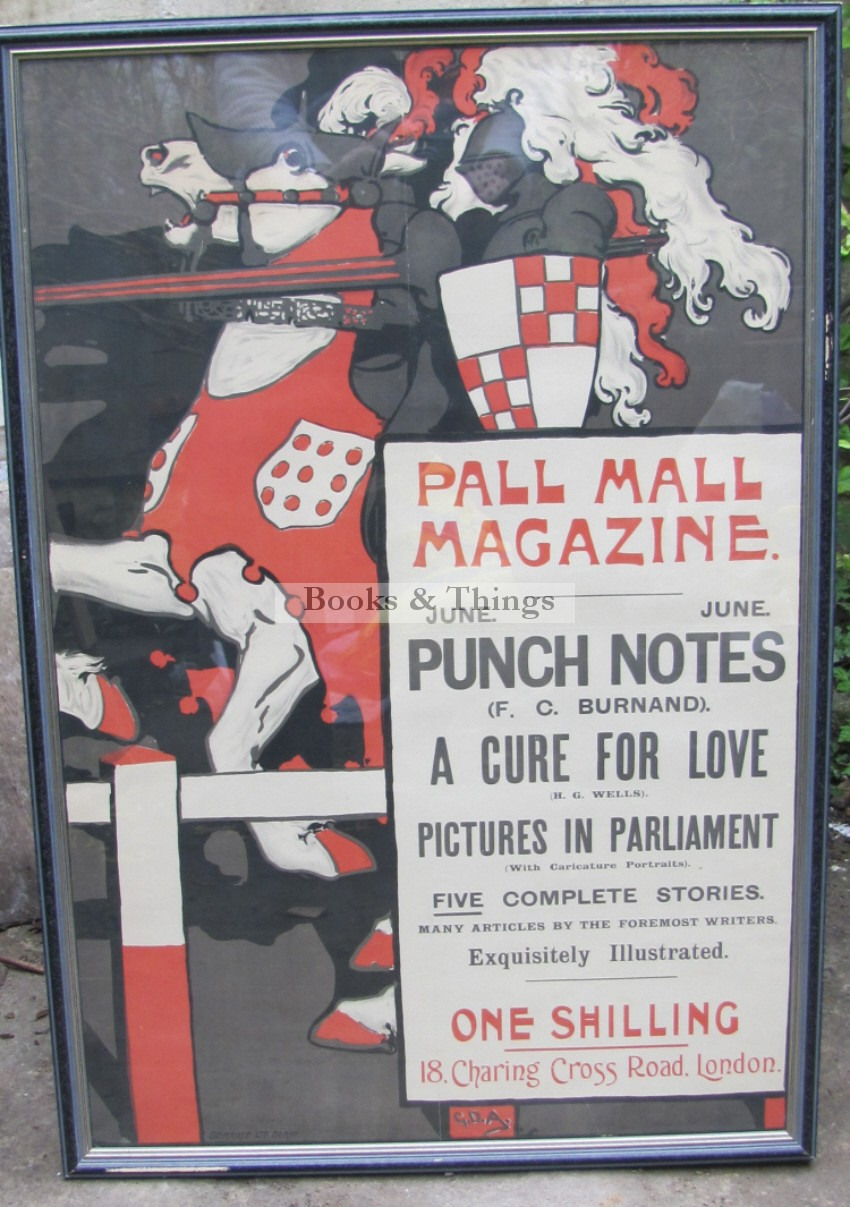 George Denholm Armour poster Pall mall Magazine