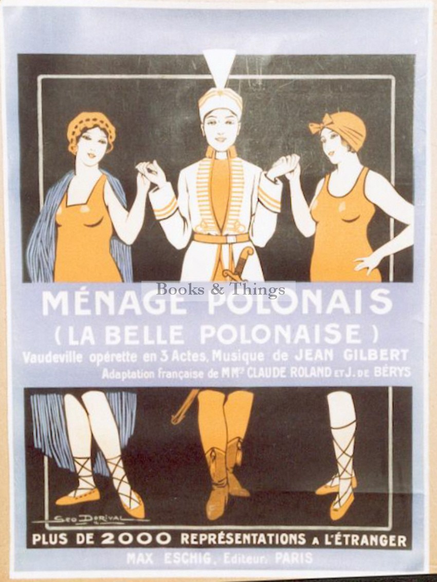 George Dorival poster Meage Polonais