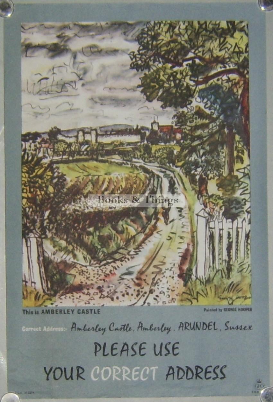 George Hooper poster Correct Address