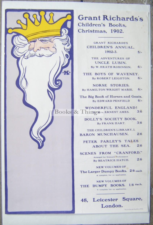 Grant Richards Books poster
